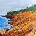 Maine Coast Acadia National Park by William Tremble