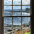 Maine Coast Picture Frame by Olivier Le Queinec