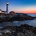 Maine Coastline Sunrise by Mark McElroy
