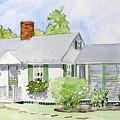Maine Cottage by Debbie Peate