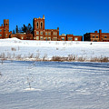 Maine Criminal Justice Academy In Winter by Olivier Le Queinec