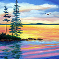 Maine Evening Song by Laura Tasheiko