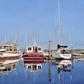 Maine Marina Evening by Craig Morris