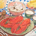 Maine Menu by Fay Terry