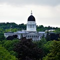 Maine State House by Julie Hodgkins