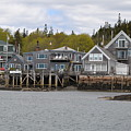 Maine Village by Beverly Webster