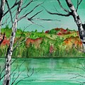 Maine's Autumn Finery by Brenda Owen