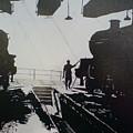 Maintenance Sheds Holbeck Leeds by Andy Davis