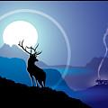 Majestic Elk Coolridge by Dana Bennett