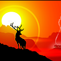 Majestic Elk Warmridge by Dana Bennett