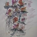 Majestic Floral J by Edward Wolverton