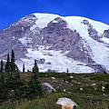 Majestic Mount Rainier by Michael Bowland