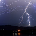 Major Foothills Lightning Strikes by James BO  Insogna