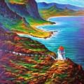 Makapuu Point Lighthouse by Joseph   Ruff