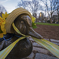 Make Way For Ducklings B.a.a. 5k Spring Bonnet by Toby McGuire