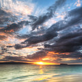 Makena Beach Maui Hawaii Sunset by Dustin K Ryan