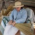 Making A Broom by Warren Thompson