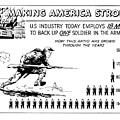 Making America Strong Cartoon by War Is Hell Store