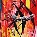 Makonde Dance Series by Abu Artist