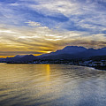 Makrygialos Sunset by Antony McAulay