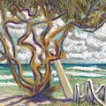 Malaekahana Tree by Patti Bruce - Printscapes