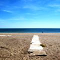 Malaga Beach by Obi Martinez