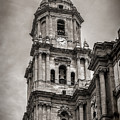 Malaga Cathedral by John Tremayne Baker