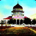 Malay Mosque Singapore Circa 1910 by Unknown