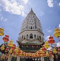 Malaysian Temple by Allan Seiden - Printscapes