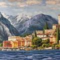 Malcesine Castle, Lago Di Garda by Lucio Campana