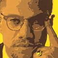 Malcolm El Afroxicano by Roberto Valdes Sanchez