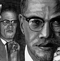 Malcolm X by Gil Fong