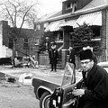 Malcolm X, Returns Home After His House by Everett