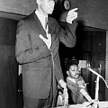 Malcolm X Speaks In Support by Everett