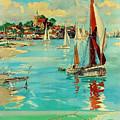 Maldon, England, Sailing Boats by Long Shot