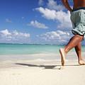 Male Beach Runner by Brandon Tabiolo - Printscapes