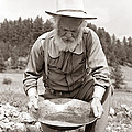Male Prospector Panning For Gold by H Armstrong Roberts and ClassicStock