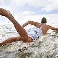 Male Surfer by Brandon Tabiolo - Printscapes