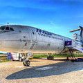 Malev Airlines Tupolev Tu-154 by David Pyatt