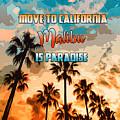 Malibu Is Paradise by Andrea Mazzocchetti