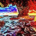 Malibu Sunset by Don Barrett