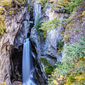 Maligne Canyon Waterfall by Pierre Leclerc Photography