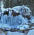 Maligne Canyon Winter Wonders by Adam Jewell