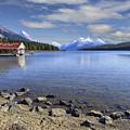 Maligne Lake -- Jasper Alberta Canada by Daniel Hagerman