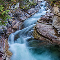 Maligne River In Autumn by Pierre Leclerc Photography