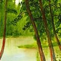 Mallard Lake Bc by Buster Dight