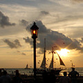 Mallory Square Key West by Susanne Van Hulst