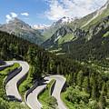 Maloja Pass In Graubunden, Switzerland by Didier Marti