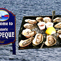 Malpeque Oyster Poster by Thomas Marchessault