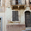 Maltese House On A Steep Street by Jacqueline Moore